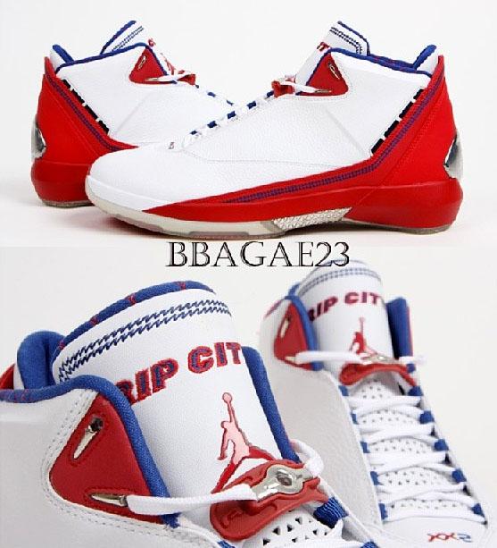 2916633d7f32e6 RIp Hamilton s Air Jordan XX2 White Red Detroit Pistons PE (1)