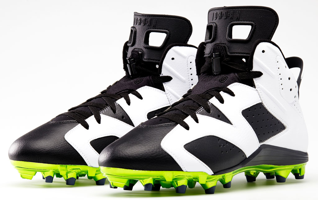 Air Jordan 6 Low Earl Thomas PE Cleats (5)