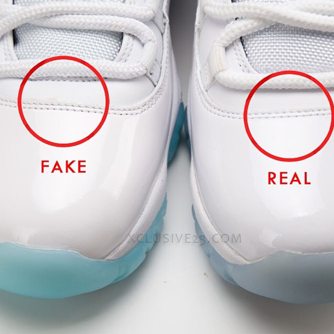 new concept 24e3f 1a26c Air Jordan 11 'Legend Blue' - Authentic Vs. Fake | Sole ...
