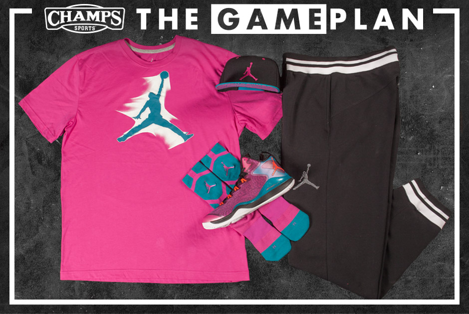 info for a9872 f4283 The Game Plan by Champs Sports Presents the Jordan River Walk Pack   Sole  Collector