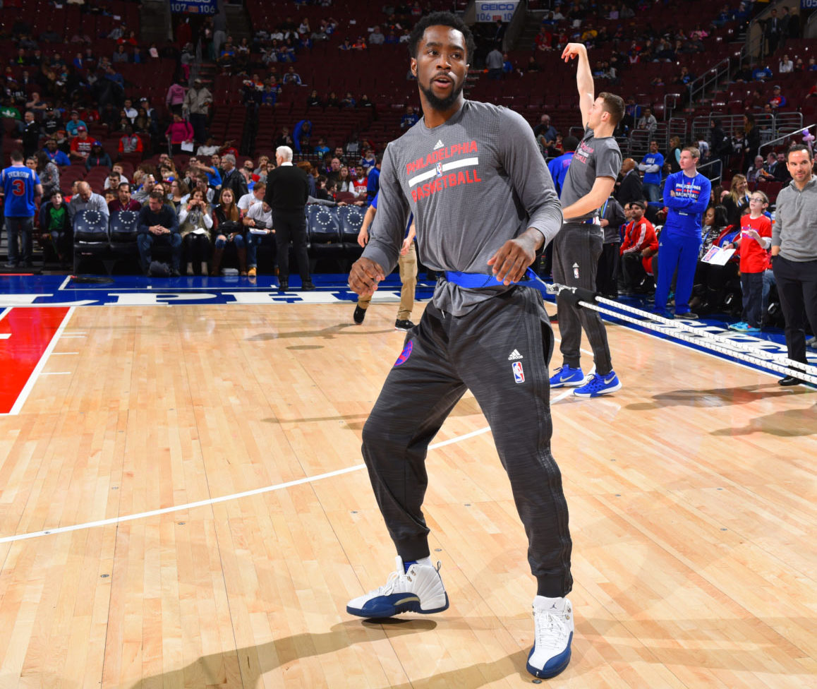 87b3dc411cc641 SoleWatch  Tony Wroten Returns in the  French Blue  Air Jordan 12 ...