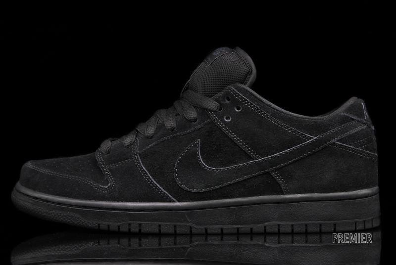 A stealthy black-on-black look hits the Nike SB Dunk Low Pro. 96640ec0e