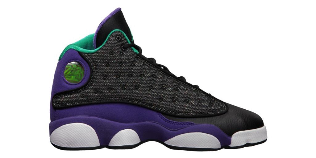 c138dd7fe44b53 Shoe  Girls  Air Jordan 13 Retro Colorway  Black   Atomic Teal - Ultraviolet  - White Year  2013