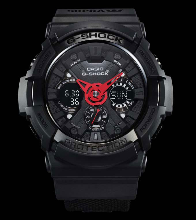 "G-Shock x SUPRA ""It's About Time"" Collection (1)"
