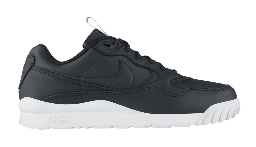 uk availability c8fc6 491ba The classic Nike Air Wildwood in a premium black leather look.