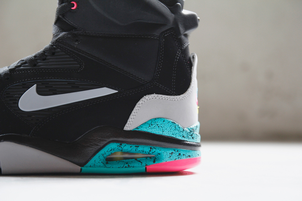 Another Look at the 'Spurs' Nike Air Command Force | Sole