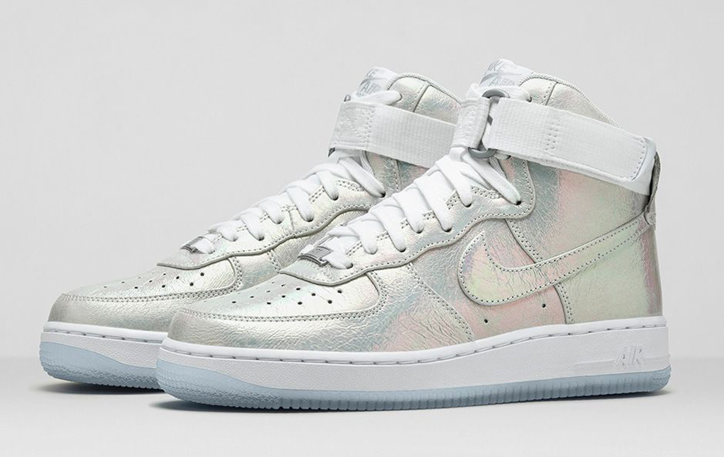 wholesale dealer 9076f f0fff Nike Sportswear Women's Air Force 1 'Iridescent Pearl ...