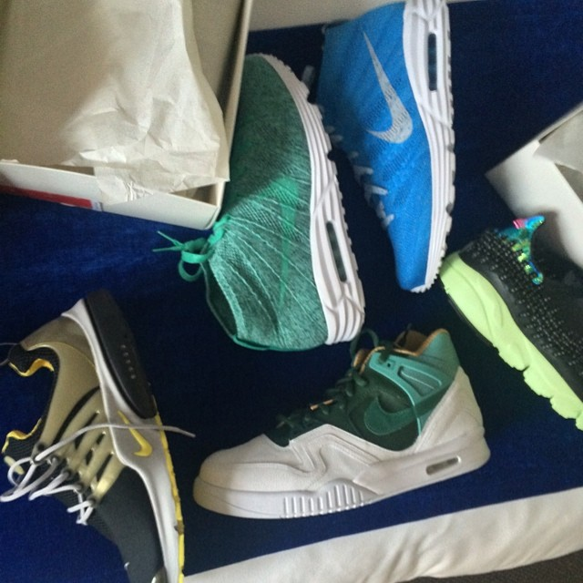 Wilson Chandler Picks Up Nike Shoes