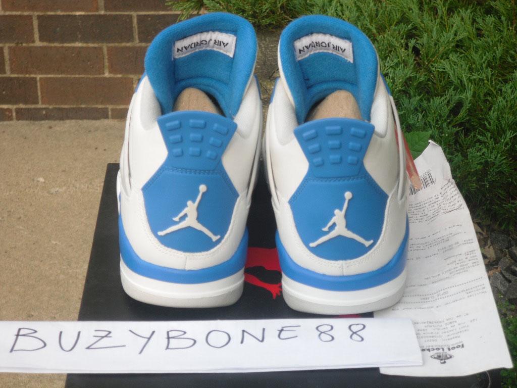 Air Jordan IV 4 Quai 54 Military Blue (8) c8769745c