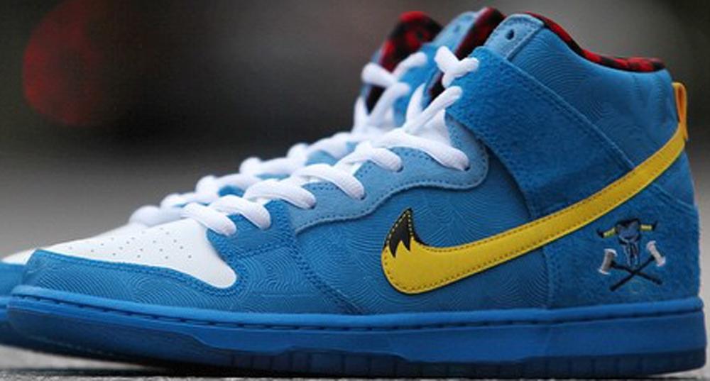 Nike Dunk High Premium SB Photo Blue/Tour Yellow-White-University Blue