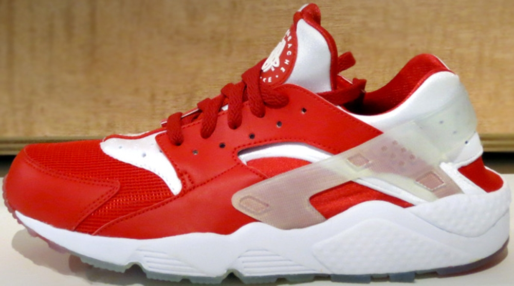 Nike Air Huarache Premium University Red/White