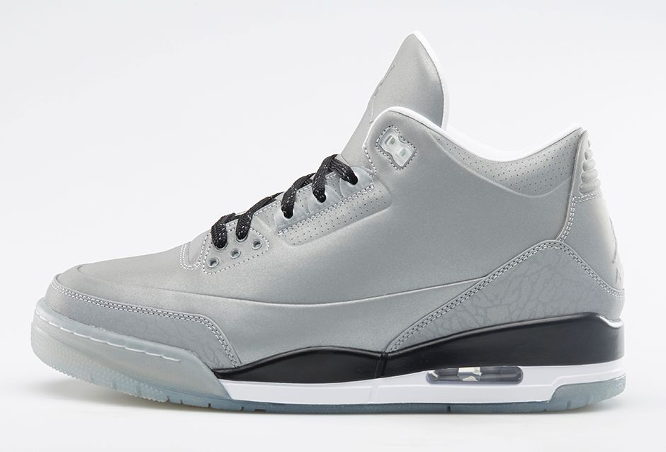 Air Jordan 5LAB3 Reflective Silver Profile