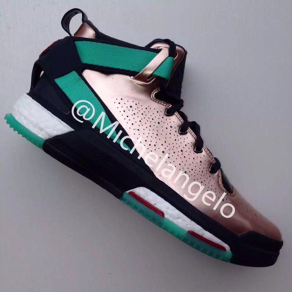 size 40 e3e99 18b85 adidas D Rose 6 Boost Copper Christmas (1)