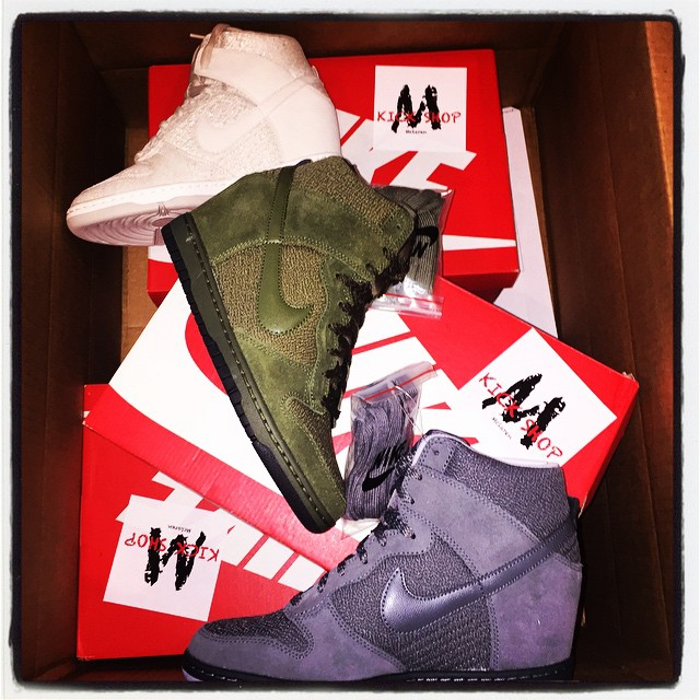 Christian Milian Picks Up Nike Dunk Sky High