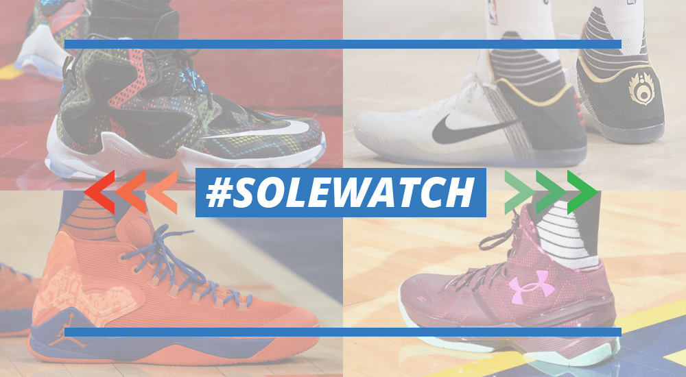 #SoleWatch: NBA Power Rankings for January 24