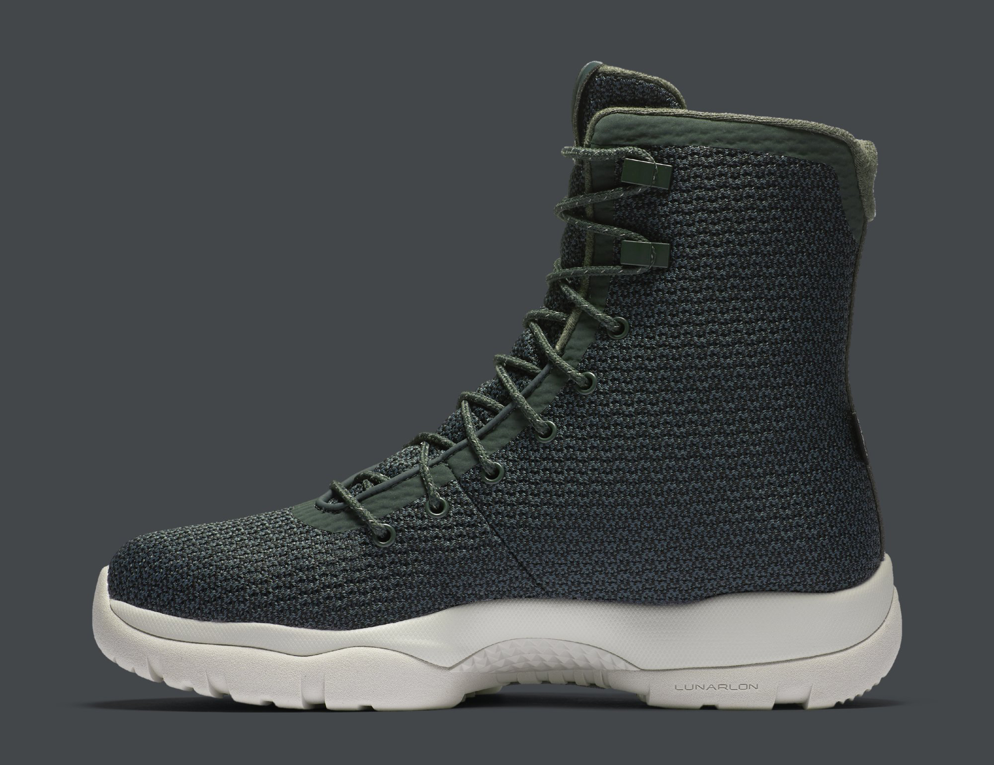 Jordan Future Boot Grove Green 854554-300 Medial