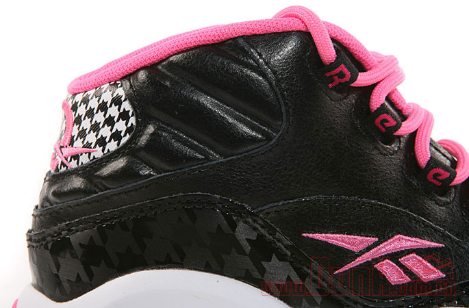 Reebok Question GS Black/Pink Houndstooth (5)