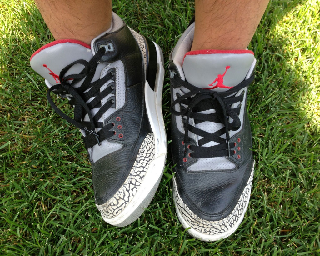 Spotlight // Forum Staff Weekly WDYWT? - 8.31.13 - Air Jordan III 3 Retro Black Cement by dannyiss