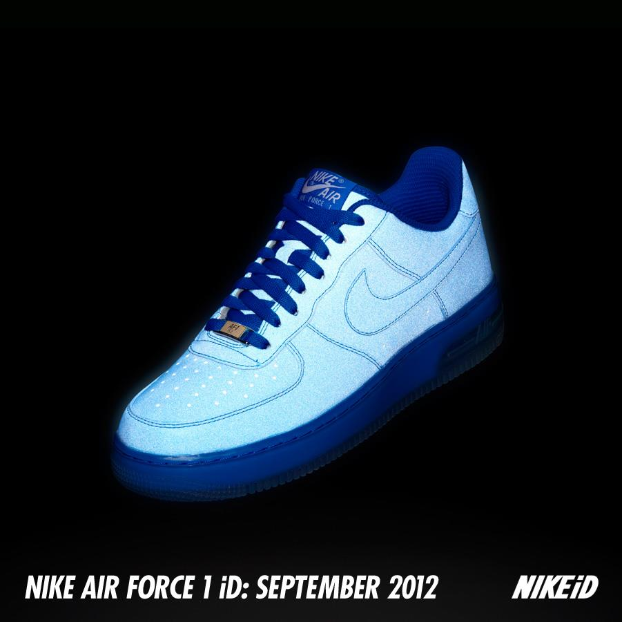 The reflective synthetic option for the Air Force 1 will be available  tomorrow 5c74945e60