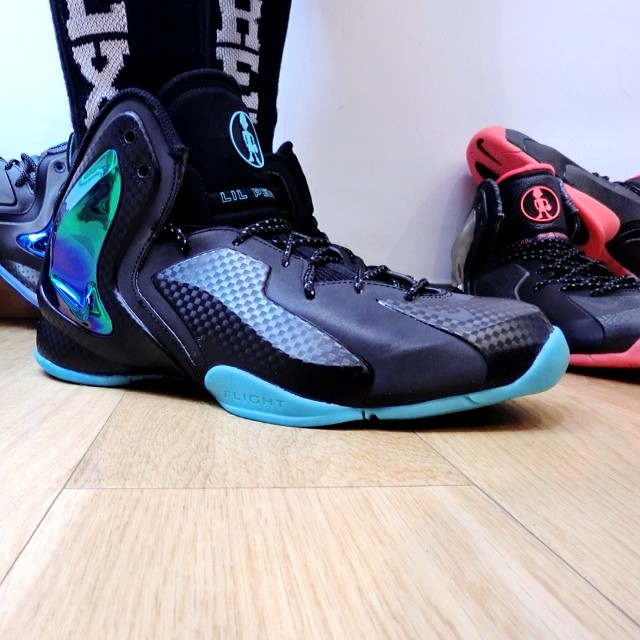 ffe3465ebc470 Nike Lil  Penny Posite Jade 630999-002 (2)