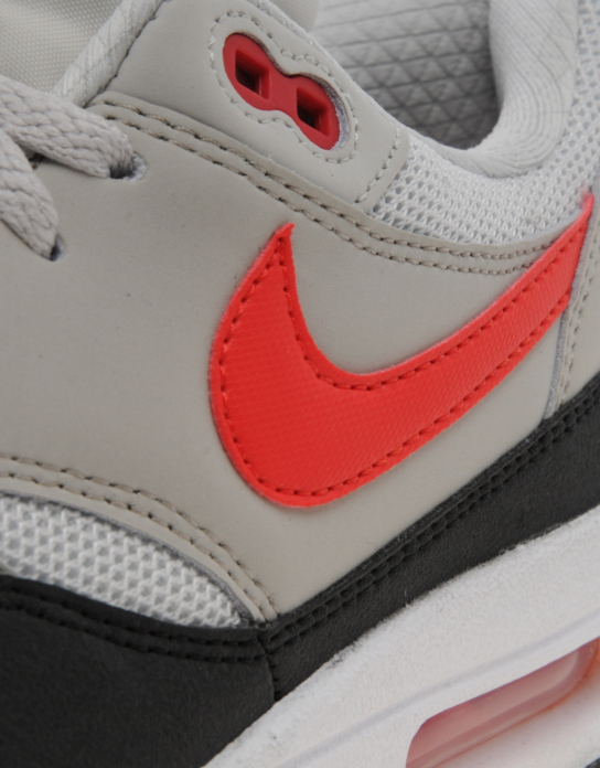 quality design 40779 6bd02 Nike Air Max 1 - Light Bone / Cherry Red - JD Sports Exclusive ...
