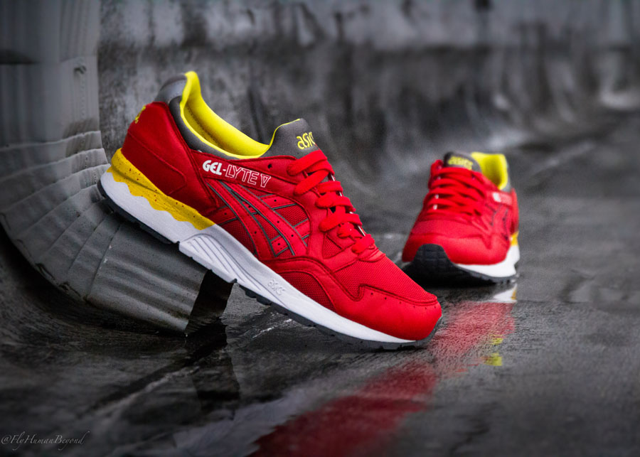 ASICS Gel Lyte V 'Fiery Red' | Sole Collector