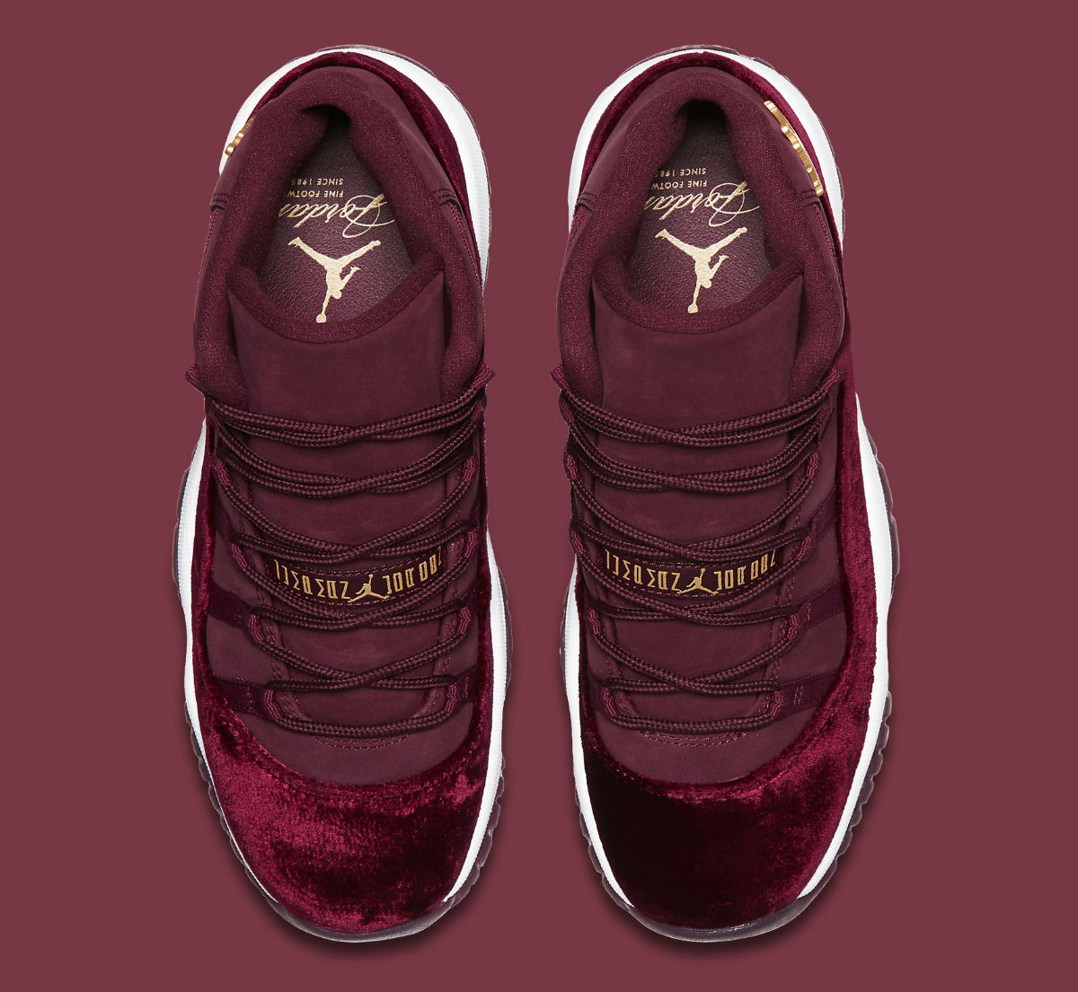 Air Jordan 11 GG Red Velvet Heiress Release Date Top 852625-650