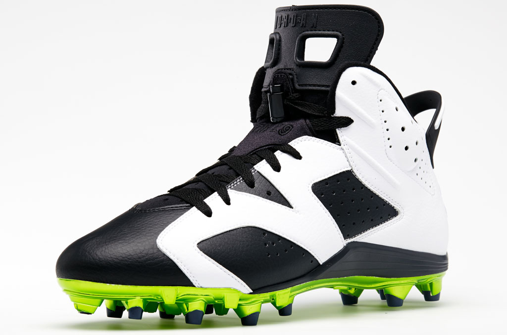 Air Jordan 6 Low Earl Thomas PE Cleats (1)
