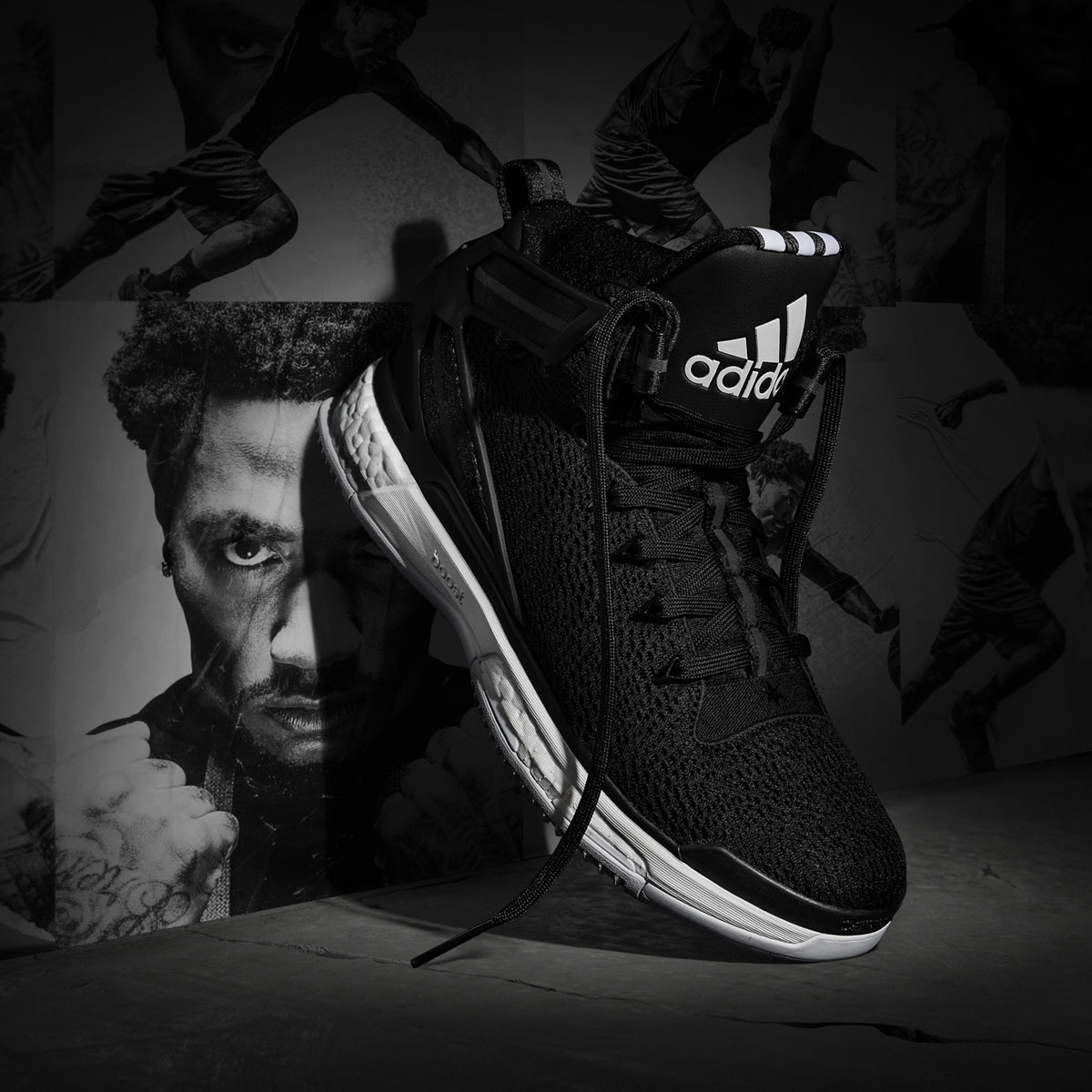 Derrick Rose Has New adidas Sneakers for Home and Away Games  4efdd1e8a5