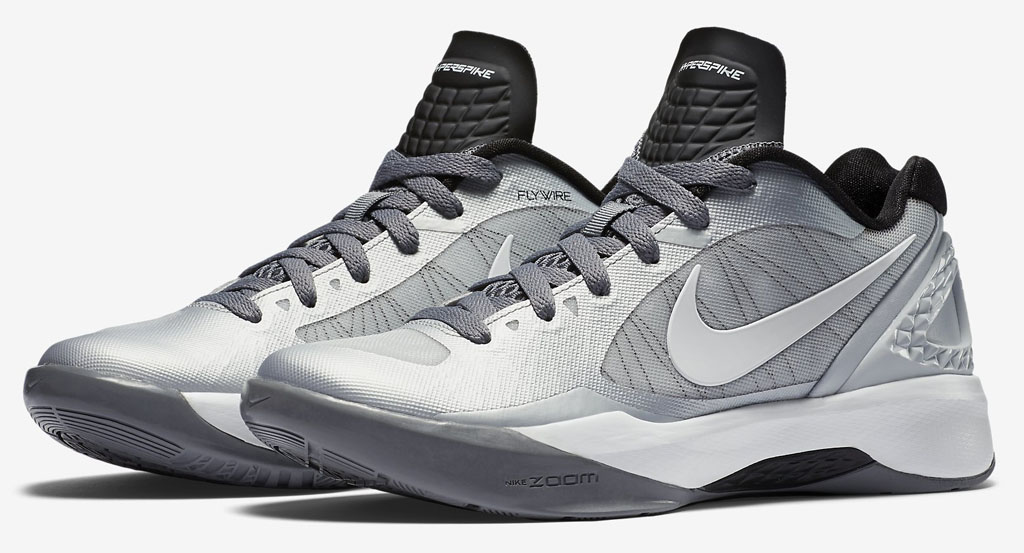 new concept 01064 9de21 Nike Zoom Volley Hyperspike Silver Black (1)