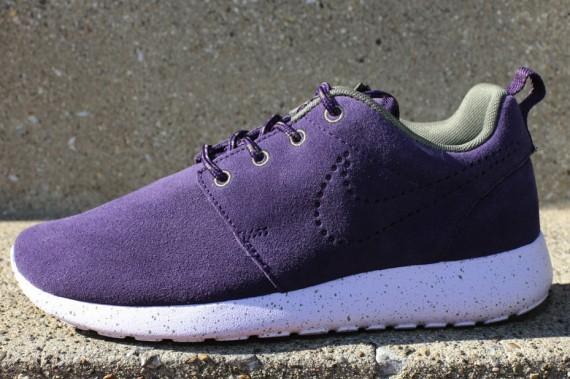 Nike Roshe Purple Suede