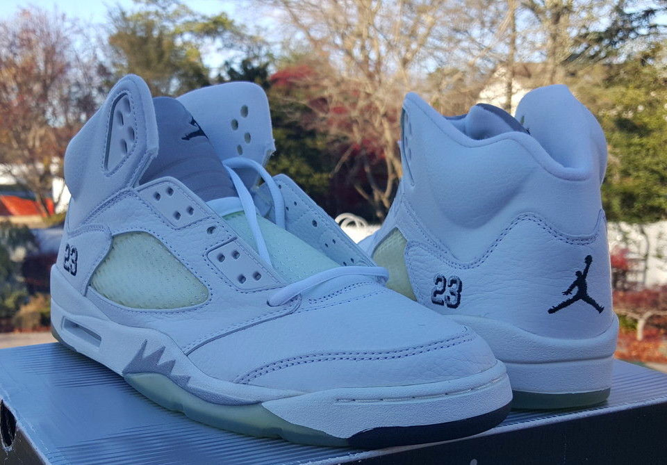 Air Jordan 5 White Metallic (2000)