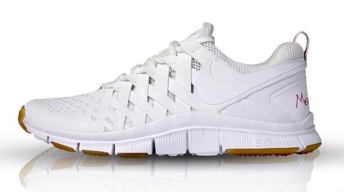 nike free trainer 5.0 all white