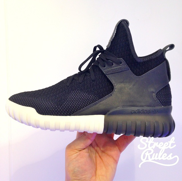 another adidas tubular primeknit colorway surfaces sole