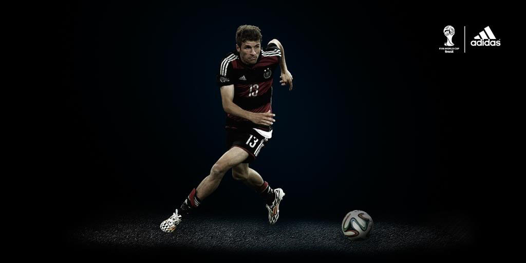 Thomas Muller for adidas // FIFA 2014 World Cup