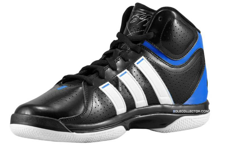 wholesale dealer 920c9 73c8e adidas adiPower Howard Black Running White Bright Blue G20282