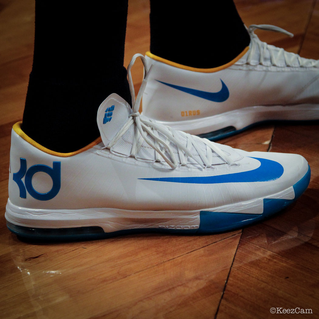32a0f99bc944 SoleWatch    Up Close At Barclays for Nets vs Nuggets - Timofey Mozgov  wearing Nike