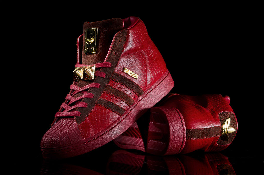 Brandon Richard's Top Ten Shoes Sneakers of 2012 - Big Sean x adidas Originals Pro Model 2.0 Detroit Players