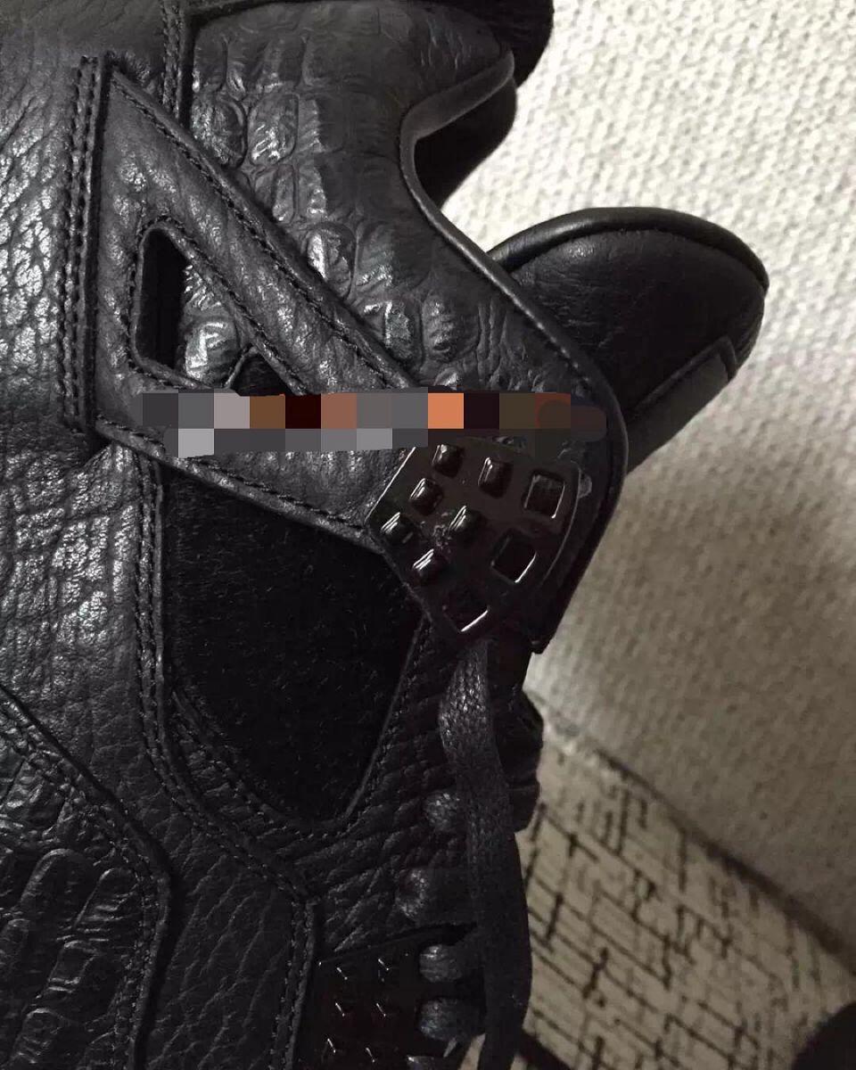 Jordan 4 Pinnacle Black