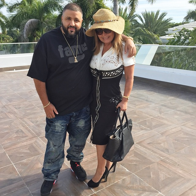 ada18649195e0a DJ Khaled wearing Air Jordan VI 6 Infrared