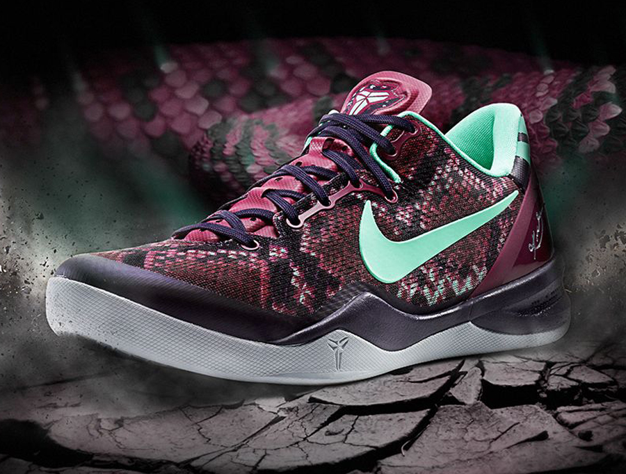 163857c1ff25 Nike Kobe 8 System  Pit Viper  - New Images and Release Info