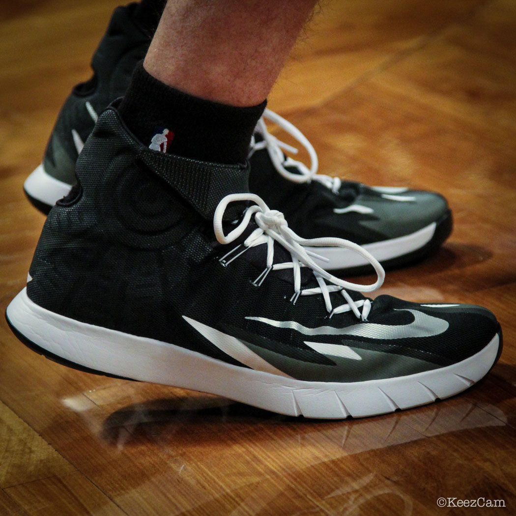 Tyler Hansbrough wearing Nike Zoom HyperRev