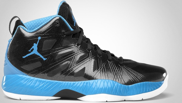 Air Jordan 2012 Lite Black/University Blue-White