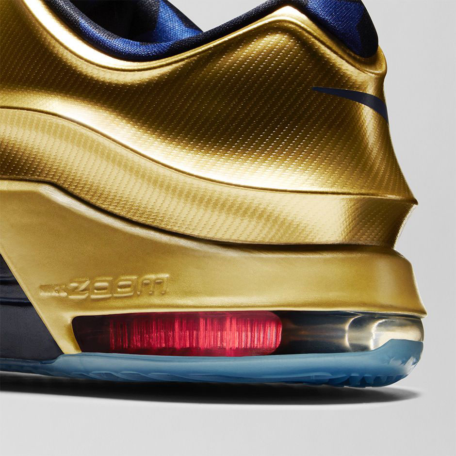 d3dadf294a14 Nike KD 7 Gold Medal Release Date 706858-476 (5)