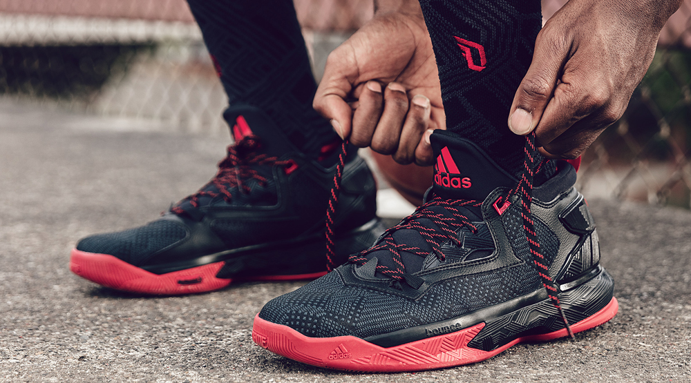 sale retailer 7f322 f05c3 D Lillard 2 Away Images via adidas