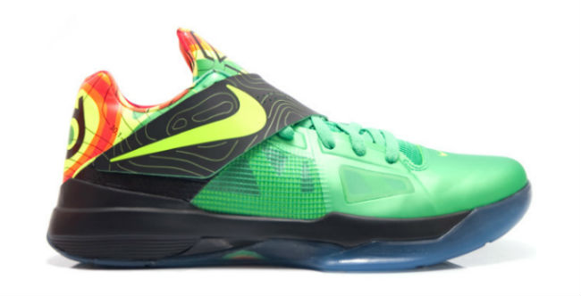Top 24 KD IV Colorways for Kevin Durant's 24th Birthday // Weatherman