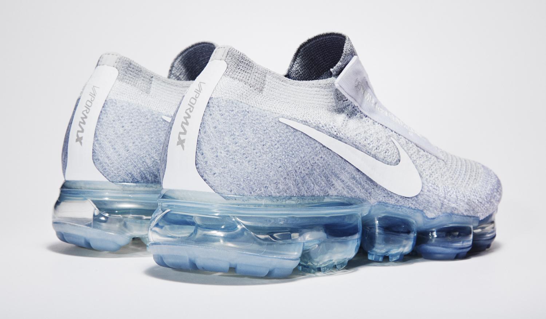 White Nike Air VaporMax Comme des Garcons Back