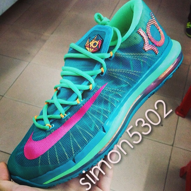 online store 1fdea 5a810 Nike KD 6 Elite Turbo Green 642838-300