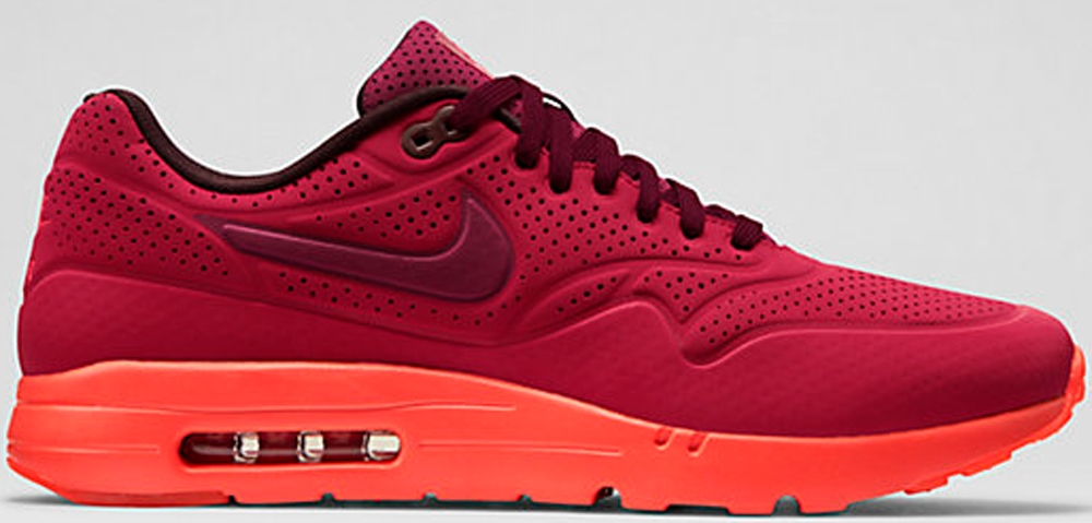 Nike Air Max 1 Ultra Moire Gym Red/University Red-Deep Burgundy-Team Red