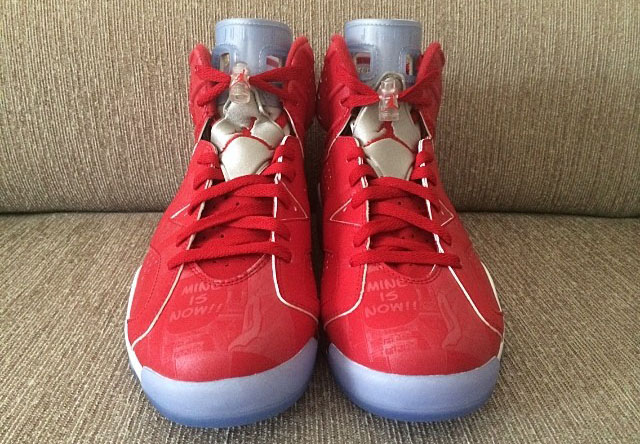 Air Jordan VI 6 Retro Slam Dunk Manga 717302-600 (12)